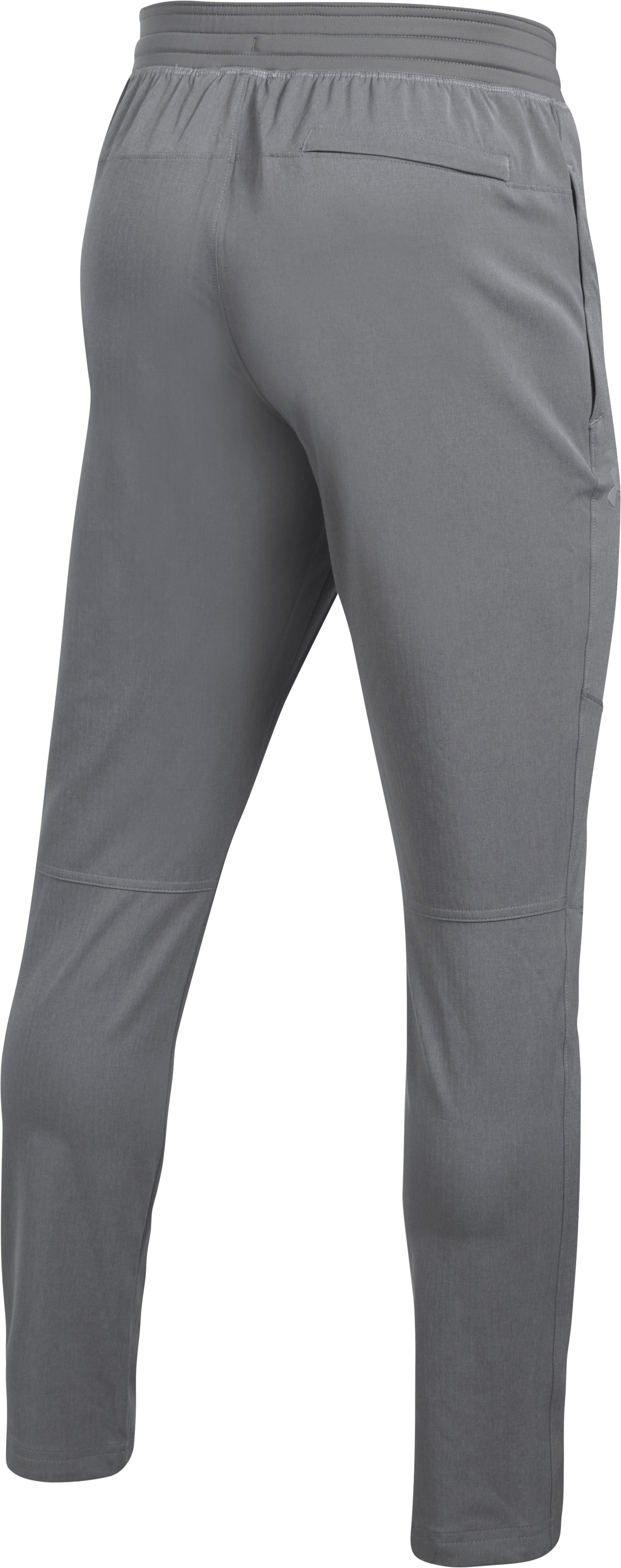 Men's UA WG Woven Pants, True Gray Heather, undefined