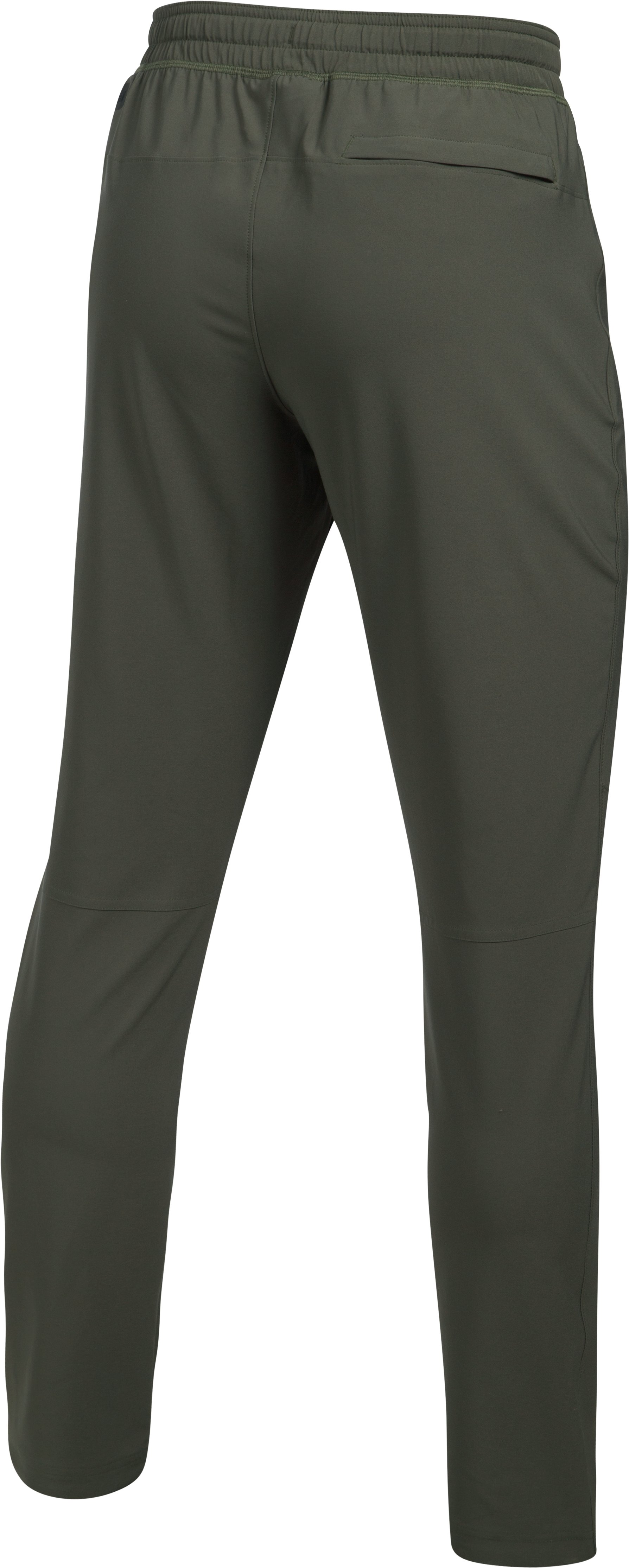 Men's UA WG Woven Pants, DOWNTOWN GREEN, undefined