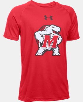 Boys' Maryland UA Tech™ Short Sleeve T-Shirt LIMITED TIME: FREE U.S. SHIPPING  $18.99