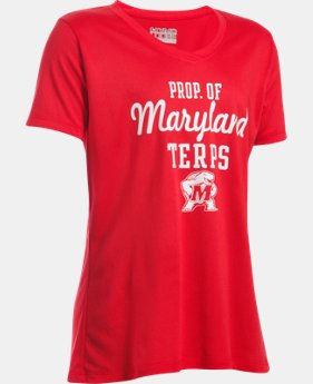 Girls' Maryland UA Tech™ Short Sleeve T-Shirt  1 Color $14.24