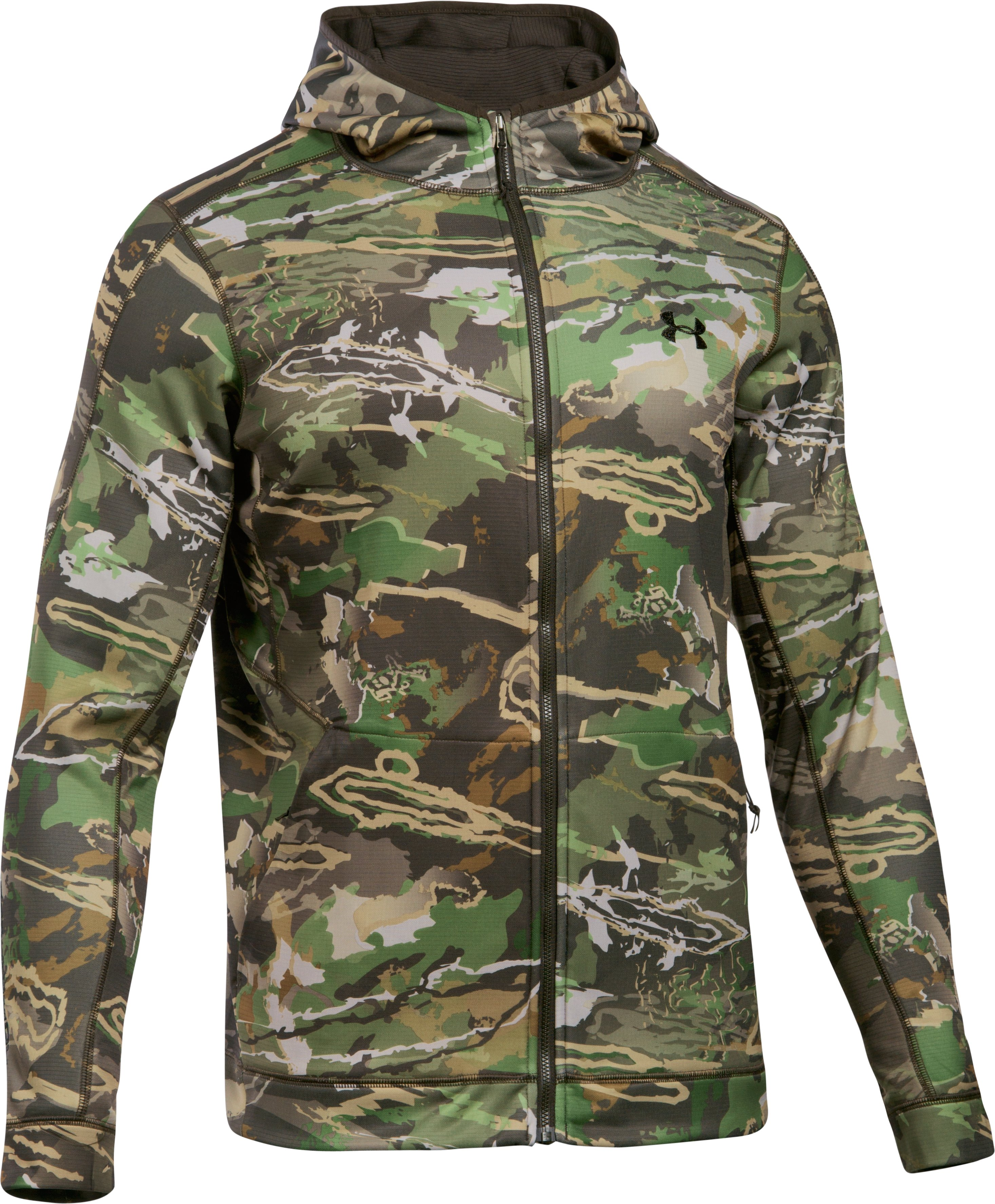 Men's UA Stealth Reaper Early Season Hoodie, RIDGE REAPER® FOREST, undefined