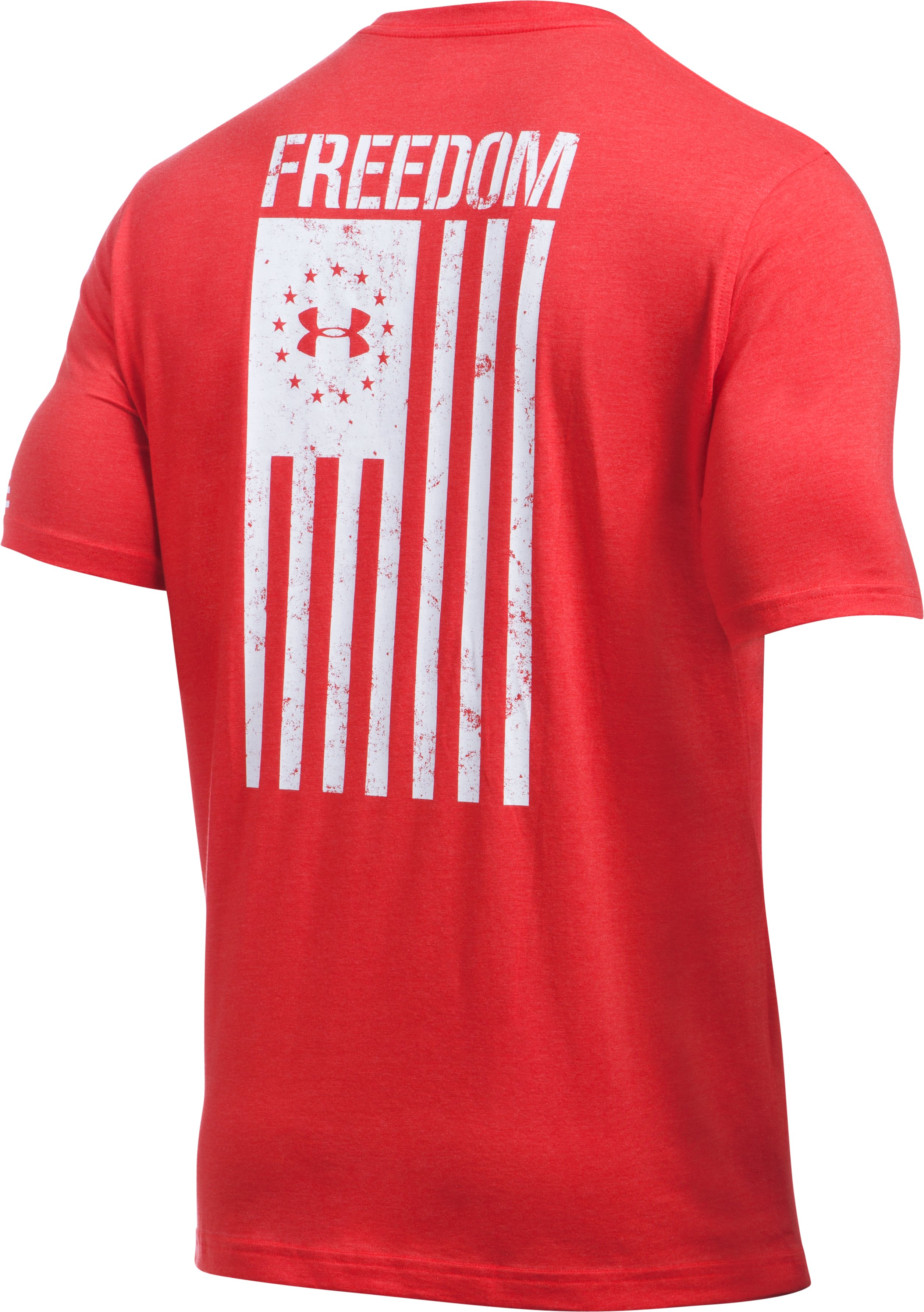 Men's UA Freedom Flag T-Shirt, Red,