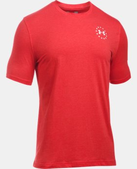 Men's UA Freedom Flag T-Shirt  1  Color Available $24.99