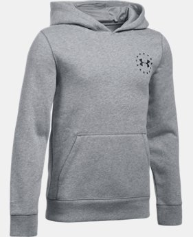 New Arrival Boys' UA Freedom Flag Hoodie  1 Color $49.99