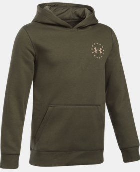 Boys' UA Freedom Flag Hoodie LIMITED TIME OFFER 1 Color $34.99