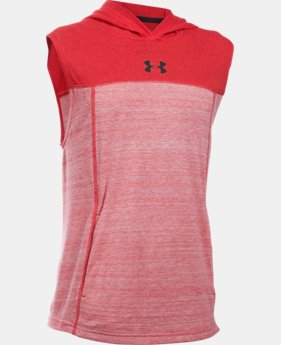 Boys' UA Select Sleeveless Hoodie  1 Color $16.99 to $17.99