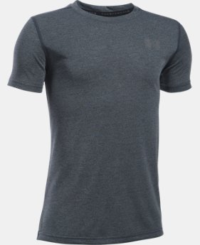 Boys' UA Threadborne Short Sleeve T-Shirt  4 Colors $13.99 to $18.99