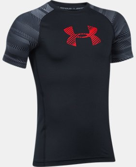 Boys' HeatGear® Armour Train to Game Shirt  1 Color $29.99
