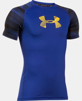 Boys' HeatGear® Armour Train to Game Shirt  2 Colors $18.74