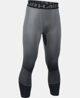 Boys' HeatGear® Armour Printed ¾ Leggings  1 Color $39.99