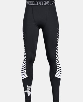 Boys' ColdGear® Reactor Armour Leggings  4  Colors Available $45.49 to $48.99