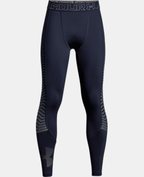 New Arrival  Boys' ColdGear® Reactor Armour Leggings  1 Color $64.99