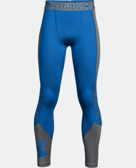 New Arrival Boys' ColdGear® Reactor Armour Leggings  1 Color $49.99