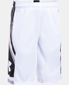 Boys' UA Space the Floor Shorts  4 Colors $34.99