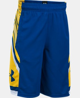 Boys' UA Space the Floor Shorts  1 Color $29.99