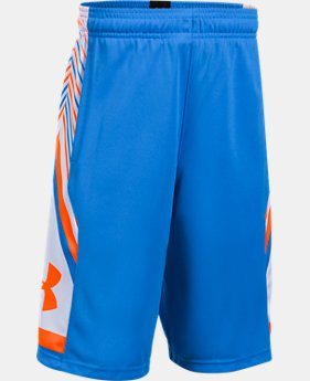Boys' UA Space the Floor Shorts  1 Color $20.99
