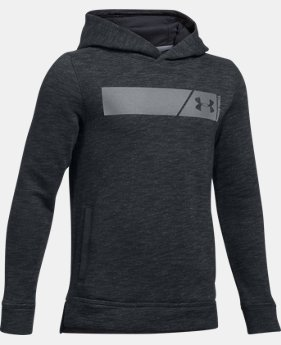 New Arrival  Boys' UA Select Fleece Hoodie  1 Color $59.99