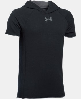 New Arrival  Boys' UA Select Short Sleeve Hoodie  1 Color $44.99