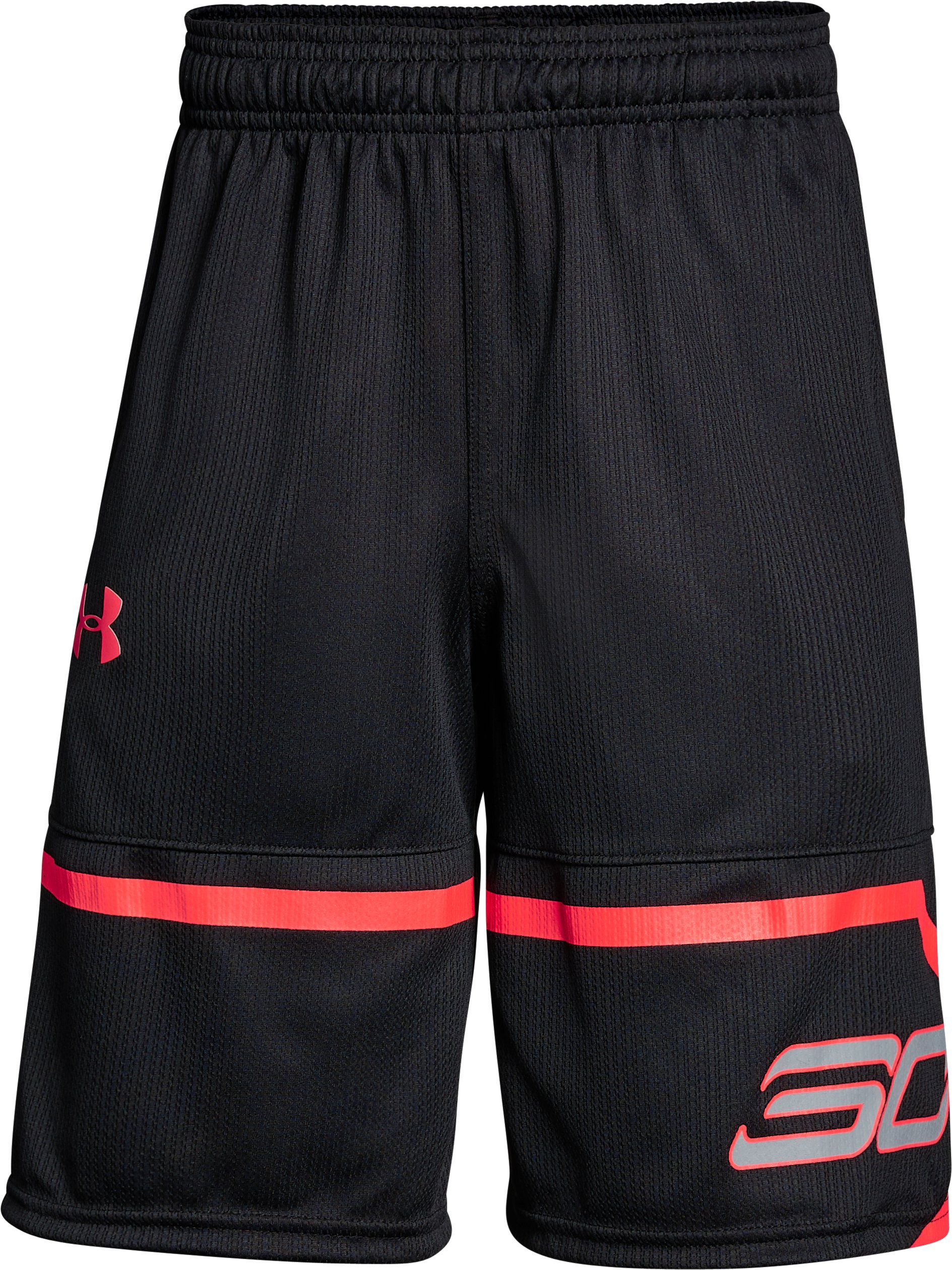 Boys' SC30 Spear Shorts, Black , undefined