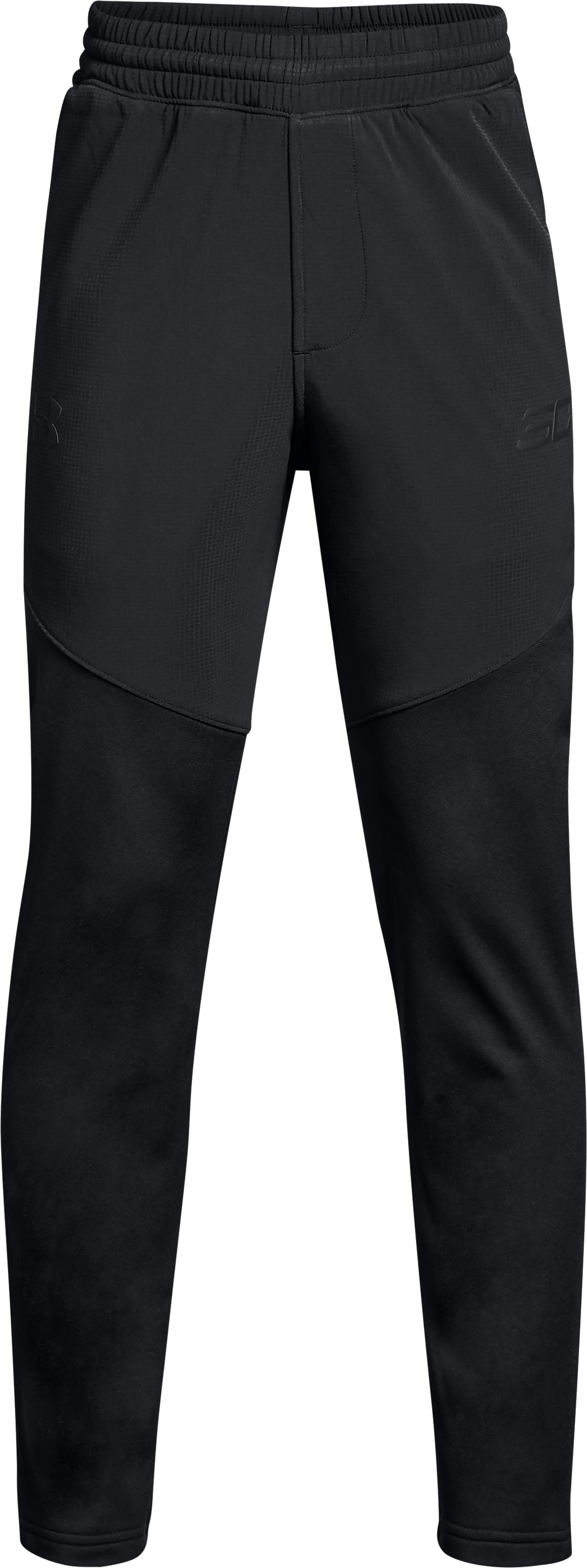 Boys' SC30 Warm-Up Pants, Black