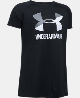 Best Seller  Girls' UA Big Logo T-Shirt  1 Color $17.99