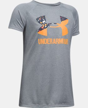 PRO PICK Girls' UA Big Logo T-Shirt  10 Colors $11.99 to $14.99