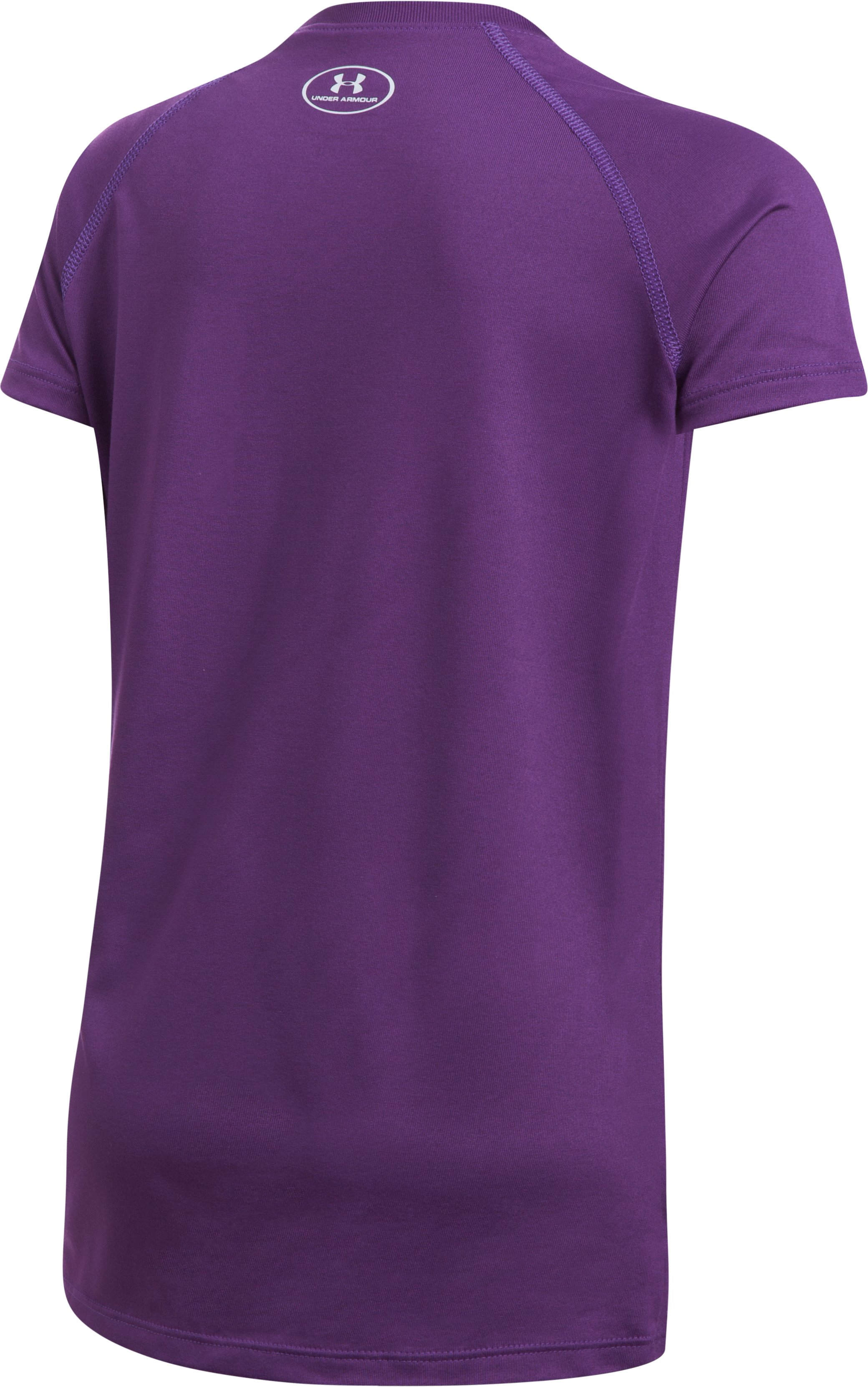 Girls' UA Big Logo T-Shirt, Indulge, undefined