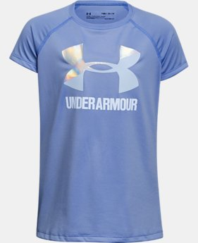 Girls' UA Big Logo T-Shirt  1 Color $19.99