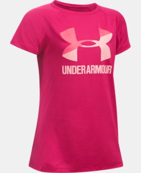 Girls' UA Big Logo T-Shirt  1 Color $11.99 to $19.99