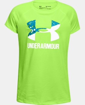 Girls' UA Big Logo T-Shirt  7 Colors $11.99 to $14.99