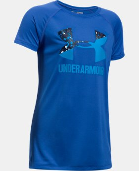 PRO PICK Girls' UA Big Logo T-Shirt  2 Colors $14.99