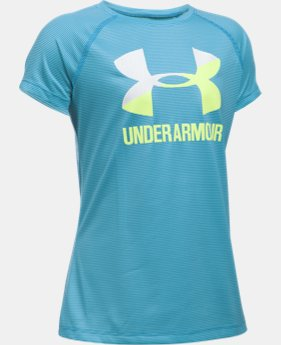 Girls' UA Big Logo Short Sleeve T-Shirt  2 Colors $19.99
