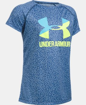 Girls' UA Big Logo Short Sleeve T-Shirt LIMITED TIME: FREE SHIPPING 2 Colors $22.99