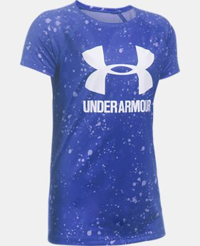 Girls' UA Big Logo Short Sleeve T-Shirt  3 Colors $19.99