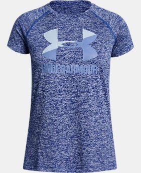 Girls' UA Big Logo Short Sleeve T-Shirt  10  Colors Available $14.99 to $19.99