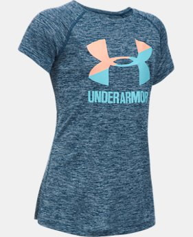 Girls' UA Big Logo Short Sleeve T-Shirt  1 Color $19.99