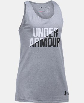 Girls' UA Under Armour Tank   $19.99
