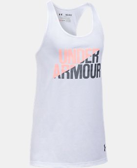 Girls' UA Under Armour Tank  1 Color $13.99