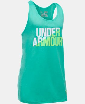 Girls' UA Under Armour Tank  1 Color $19.99