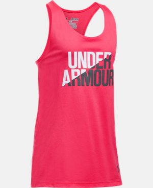 New Arrival Girls' UA Under Armour Tank  2 Colors $19.99 to $22.99