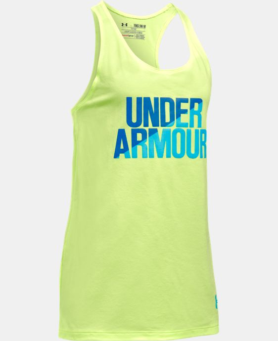 New Arrival Girls' UA Under Armour Tank   $19.99 to $22.99