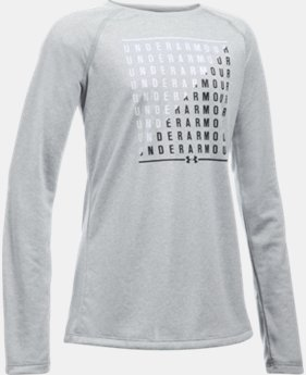 New Arrival  Girls' UA Slash Long Sleeve   2 Colors $34.99