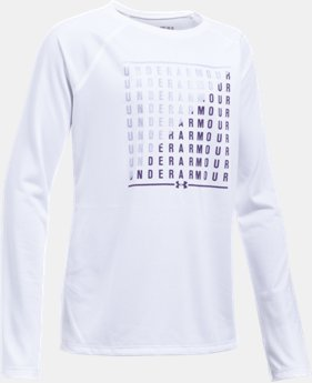 Girls' UA Slash Long Sleeve  2 Colors $12.74 to $17.24