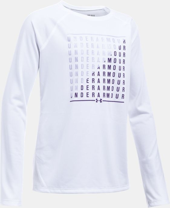 New Arrival Girls' UA Slash Long Sleeve   1 Color $29.99