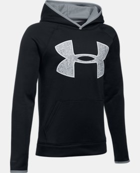 New to Outlet Boys' Armour Fleece® Big Logo Hoodie  1  Color Available $26.99