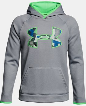 Boys' Armour® Fleece Big Logo Hoodie LIMITED TIME OFFER 1 Color $29.99