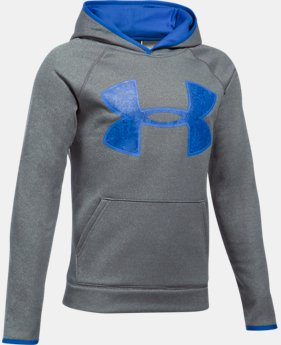 New to Outlet Boys' Armour Fleece® Big Logo Hoodie  2 Colors $29.99 to $33.74