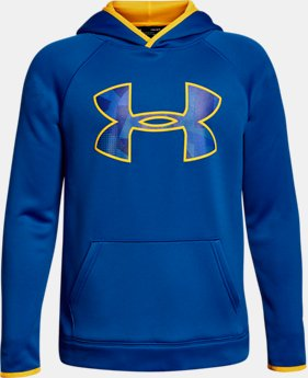Boys' Armour® Fleece Big Logo Hoodie LIMITED TIME OFFER 2 Colors $29.99