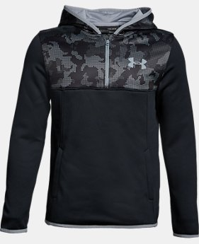 Boys' Armour® Fleece ¼ Zip Hoodie LIMITED TIME OFFER 5 Colors $29.99