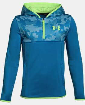 Boys' Armour Fleece® ¼ Zip Hoodie  1 Color $34.99 to $37.49